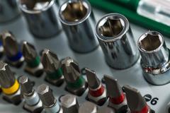 Metal working tools, metalwork Stock Photos