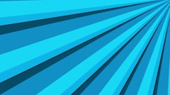 4k radical sun burst, bright striking colors loop motion background blue Stock Footage