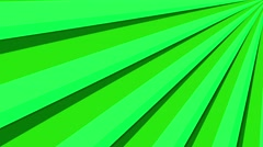Stock Video Footage of 4k radical sun burst, bright striking colors loop motion background green