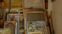 Art Room Stock Footage