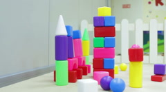 Kids a toys Stock Footage