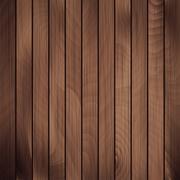 Vector wood plank - stock illustration