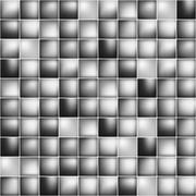 Stock Illustration of Glossy colorful mosaic square cells grid