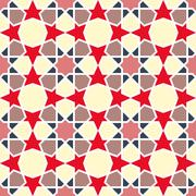 Arabesque pattern. Vector seamless traditional east design Stock Illustration