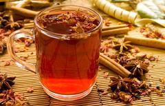 Red tea - stock photo