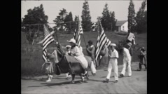 Horribles Parade July 4th 1931 - stock footage