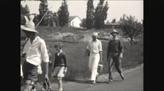 End of Horribles Parade July 4th 1930 Stock Footage