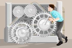 Business concept - stock illustration