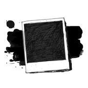 Stock Illustration of Vintage drawing photo frame