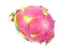 Pitaya or dragonfruit on white background Stock Photos
