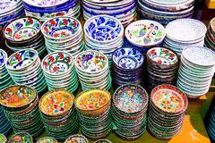 Turkish Ceramics - stock photo