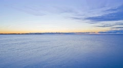 Sunrise time lapse taken from Toronto Island Stock Footage