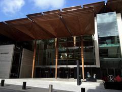 Auckland Art Gallery Toi o Tamaki faced Stock Photos