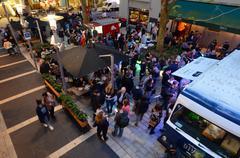 Artweek Event in Auckland New Zealand Stock Photos