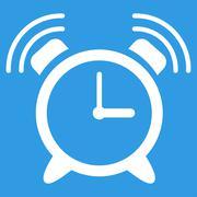 Alarm Clock Ring Icon - stock illustration
