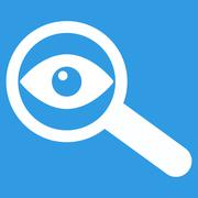 Investigate Icon Stock Illustration
