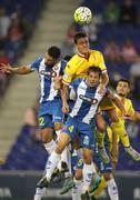 Bernardo Espinosa of Sporting Gijon Stock Photos