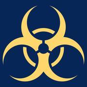 Bio Hazard Icon - stock illustration