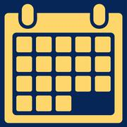 Calendar Appointment Icon Stock Illustration