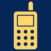 Cell Phone Icon Stock Illustration