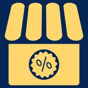 Drugstore Sale Icon - stock illustration