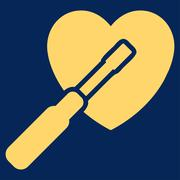 Heart Tuning Icon Stock Illustration