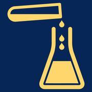 Liquid Transfusion Icon Stock Illustration