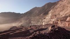 Mining Industry Timelapse, 4K Arkistovideo