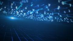 Network vizualization. LOOP Stock Footage