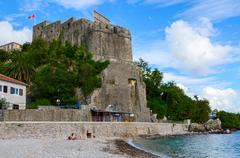 Sea Fortress (Forte Mare), Herceg Novi, Montenegro - stock photo