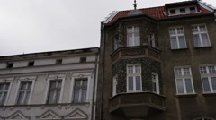 Old town in Olsztyn, Poland Stock Footage