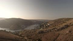 Balaklava Bay. Crimea. Aerial view. Stock Footage