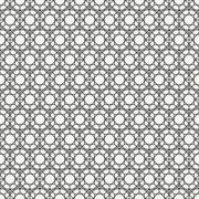 Geometric abstract seamless cube pattern with rhombuses, square, cube. Wrapping Stock Illustration