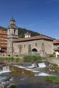 Church of Balmaseda, Bizkaia, Basque Country, Spain - stock photo
