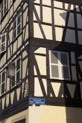 Architecture of the Strasbourg, Bas-Rhin, Alsace, France Stock Photos