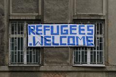 Refugee shelter Kuvituskuvat