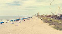 Myrtle Beach South Carolina Kuvituskuvat