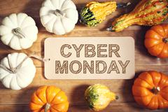 Cyber Monday message with colorful pumpkins Kuvituskuvat