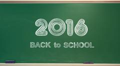 Back to School 2016 Stock Photos