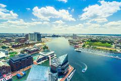 Inner Harbor of Baltimore, Maryland Kuvituskuvat