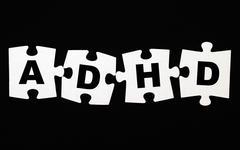 ADHD puzzle Stock Photos