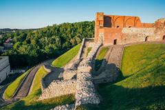 Stock Photo of Upper Vilnius Castle Complex, Is A Group Of Cultural, And Histor