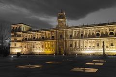 San Marcos convent, Leon, Castilla y Leon, Spain - stock photo