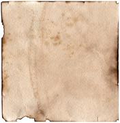 Vintage aged old paper. Original background or texture. Stock Photos
