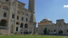 Selimiye Mosque Edirne Turkey Stock Footage