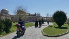 Park Edirne Turkey Stock Footage