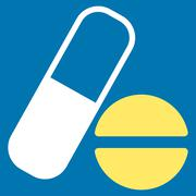 Medication Icon Stock Illustration
