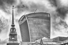 20 Fenchurch Street, aka Walkie Talkie Tower, London - stock photo