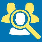 Search Patient Icon Stock Illustration