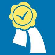 Validation Seal Icon Stock Illustration